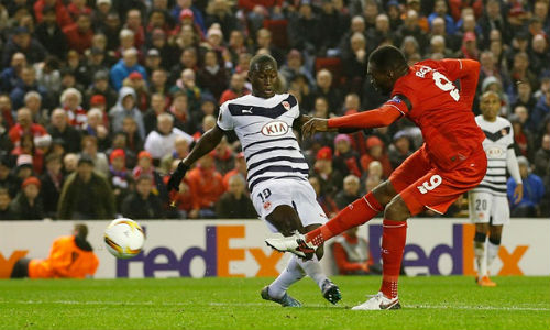 Video Liverpool vs Bordeaux - 1