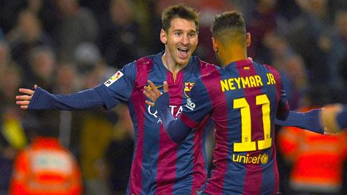 Liga trước vòng 13: Messi lấy lại vương trượng - 2