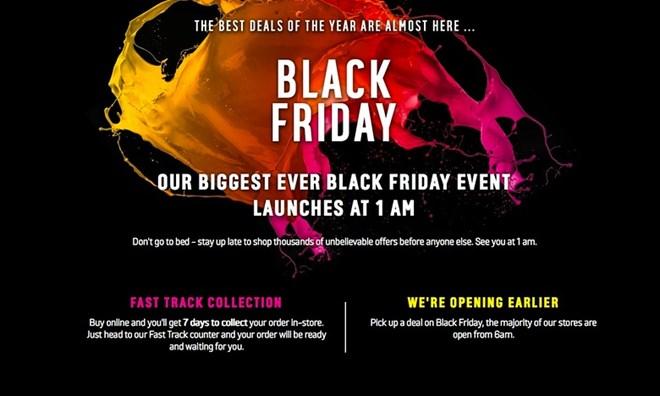 """Black Friday - """"cơn sốt"""" hàng giảm giá sôi sục toàn cầu - 8"""
