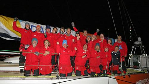 Đội đua thuyền Việt Nam đã cập bến Tây Úc - 1