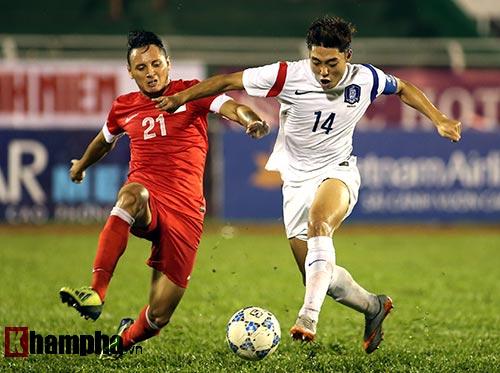 U19 Hàn Quốc - U21 Singapore: Chiến thư gửi U21 HAGL - 1