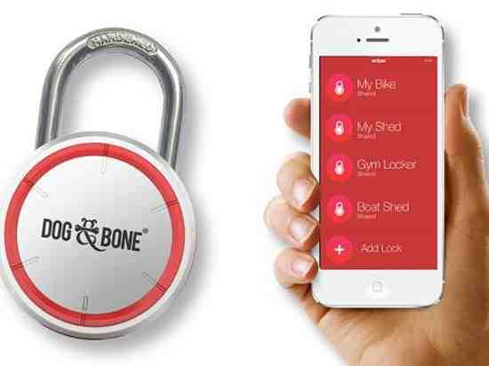 Ổ khóa giúp mở khóa bằng... smartphone - 1