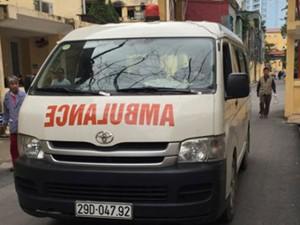Xe tải cũng thành xe cứu thương