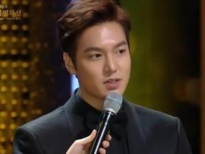 """Lee Min Ho trượt ngôi Ảnh đế giải """"Oscar Hàn Quốc"""""""