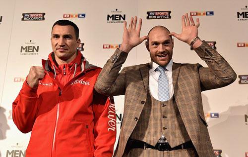 Đối đầu Klitschko, Fury chỉ có 5% cơ hội thắng - 2
