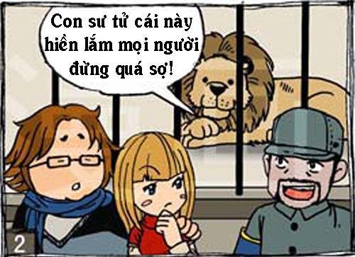 Truyện tranh: Sư tử cái bú bình - 2