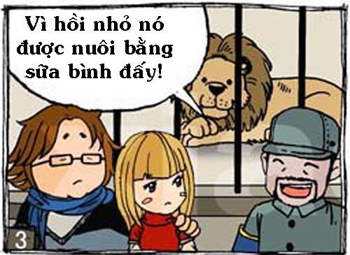 Truyện tranh: Sư tử cái bú bình - 3