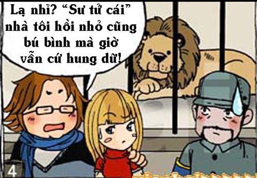 Truyện tranh: Sư tử cái bú bình - 4