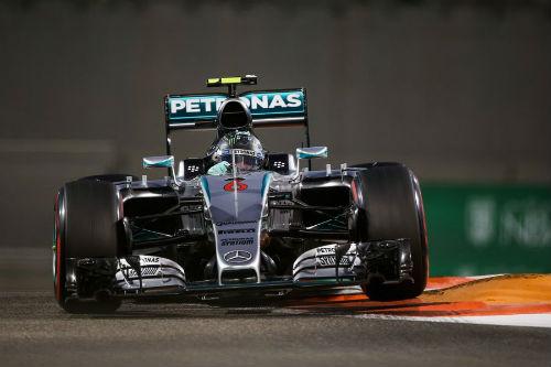 Chạy thử Abu Dhabi GP: Nội chiến Mercedes - 1