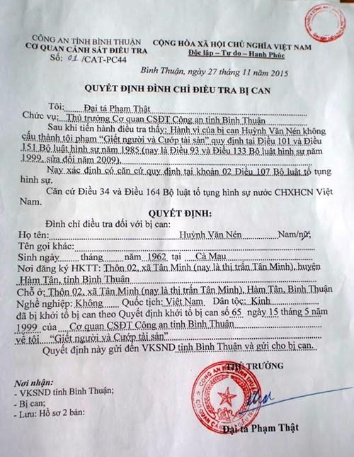 Ông Huỳnh Văn Nén chính thức được tự do - 4