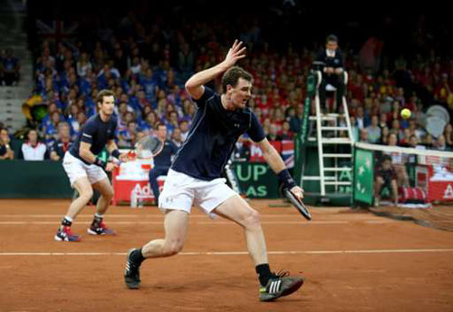 Anh em Murray giúp tuyển Anh ở gần vinh quang Davis Cup - 1