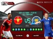 """Sự kiện - Bình luận - Leicester – MU: Cơn điên của """"Bầy cáo"""""""