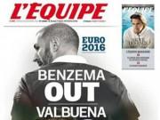 Bóng đá - Tin HOT tối 28/11: Benzema có thể không được dự Euro