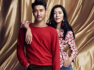 Siwon tình tứ với Liu Wen trước khi nhập ngũ