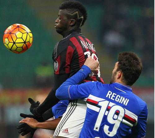 AC Milan - Sampdoria: Dấu ấn sao trẻ - 1