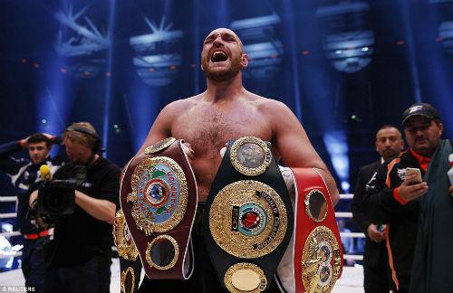 Wladimir Klitschko - Fury: Cơn địa chấn - 1