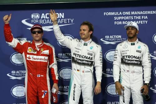 Phân hạng Abu Dhabi GP: Pole thứ 6 liên tiếp của Rosberg - 2