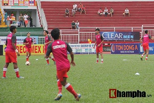 Chi tiết U21 VN - U21 Singapore: Sức ép nặng nề (KT) - 8
