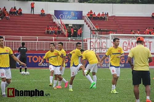 Chi tiết U21 VN - U21 Singapore: Sức ép nặng nề (KT) - 11