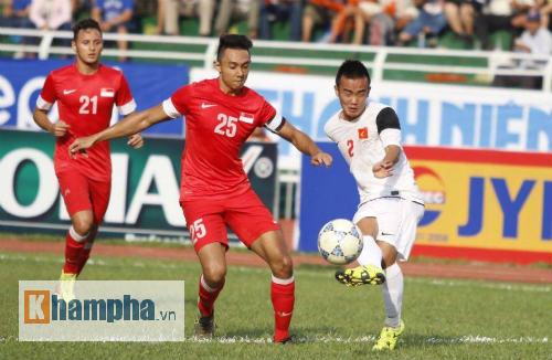 Video U21 Viet Nam vs U19 Han Quoc - 1