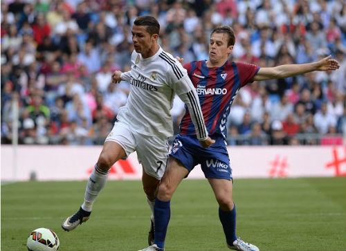"""Eibar - Real: Ngày Bale và Ronaldo """"hòa ca"""" - 1"""