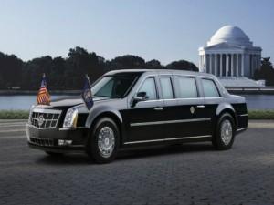 Xem siêu xe Tổng thống Mỹ phô diễn uy lực chống đạn