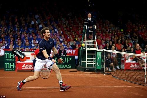 """Murray """"lên đồng"""", ĐT Anh vô địch Davis Cup - 1"""