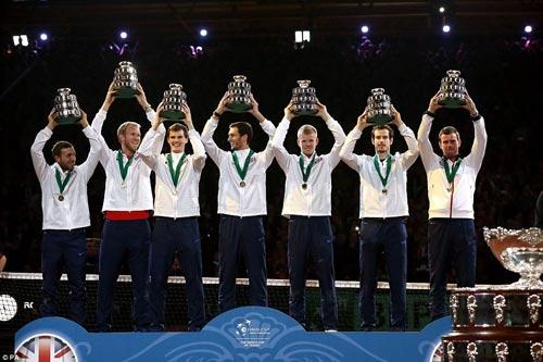 """Murray """"lên đồng"""", ĐT Anh vô địch Davis Cup - 8"""