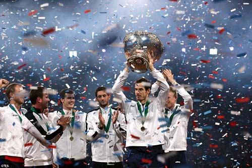 """Murray """"lên đồng"""", ĐT Anh vô địch Davis Cup - 9"""
