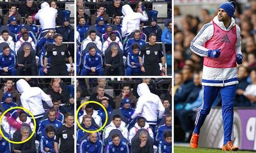 Không được đá, Costa nổi điên ném áo vào Mourinho - 3
