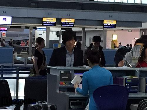Sáng nay 30/11 Tuấn Anh hào hứng đi Nhật thử việc - 3