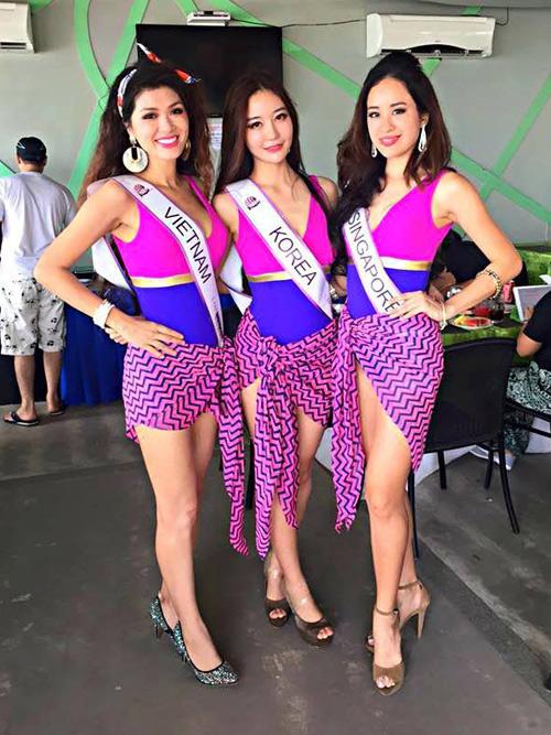 Mẫu Việt 2 con vẫn đăng quang Hoa Hậu Toàn cầu 2015 - 3
