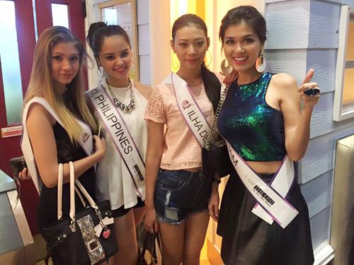 Mẫu Việt 2 con vẫn đăng quang Hoa Hậu Toàn cầu 2015 - 7