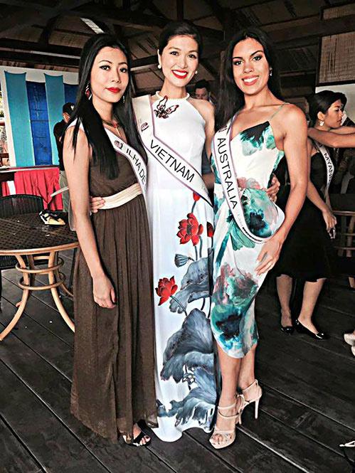 Mẫu Việt 2 con vẫn đăng quang Hoa Hậu Toàn cầu 2015 - 6