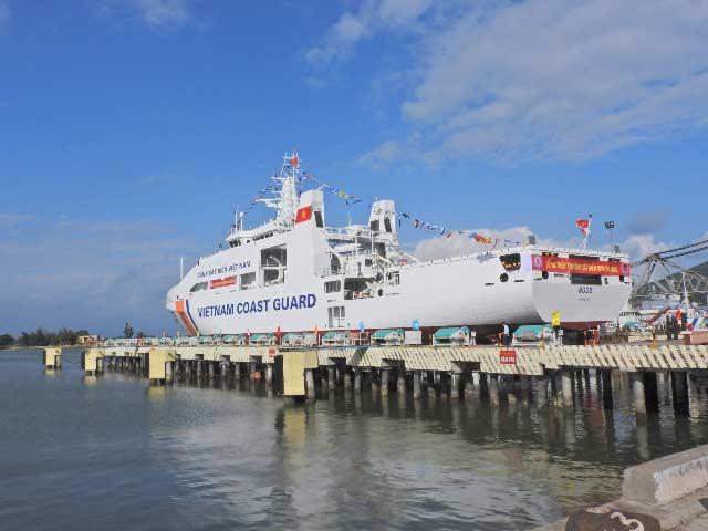 Hạ thủy tàu Cảnh sát biển đa năng 8005 - 2
