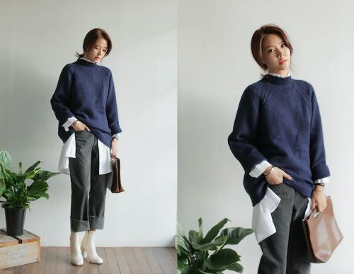 4 kiểu áo len nên có mùa đông này - 13