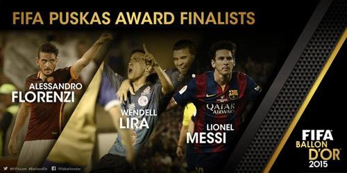 QBV FIFA 2015: Ronaldo đấu Messi & Neymar - 4