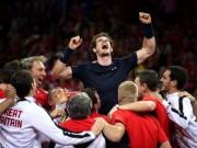 """Thể thao - Murray """"lên đồng"""", ĐT Anh vô địch Davis Cup"""