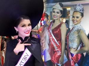 Thời trang - Mẫu Việt 2 con vẫn đăng quang Hoa Hậu Toàn cầu 2015