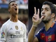 """Bóng đá - Suarez không được đề cử QBV vì """"cắn người"""""""