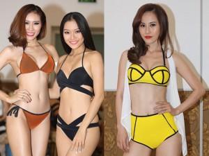 Mẫu nữ diện bikini nuột nà tại vòng sơ tuyển Siêu mẫu