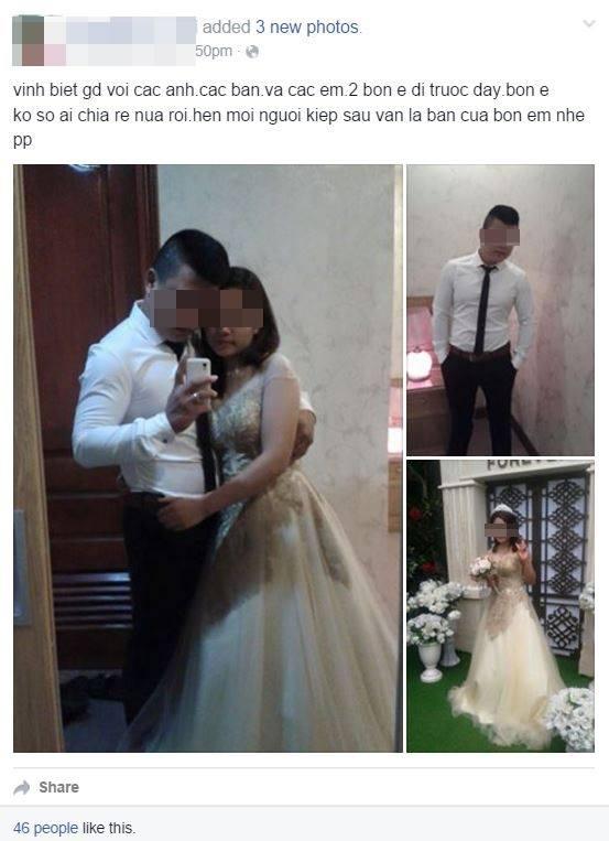 """Cặp đôi cùng nhau tự tử: """"Chú rể"""" đã có vợ và con 7 tuổi! - 1"""