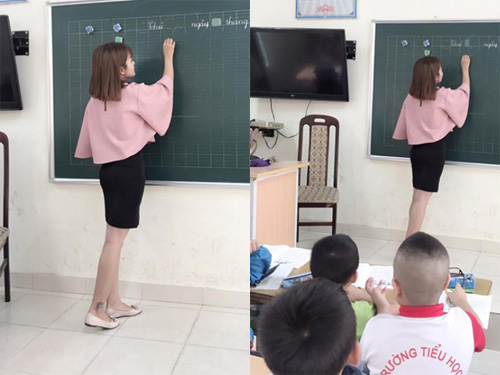 """""""Cô giáo mặc váy ngắn"""" khẳng định sẽ duy trì sở thích - 2"""