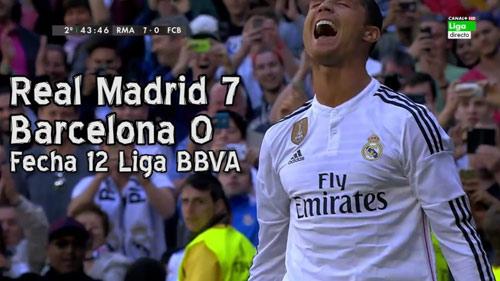 Real thắng Barca 7-0 ở El Clasico nhờ... fan cuồng - 1