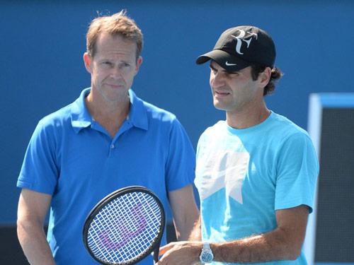 Federer không cần huyền thoại khác, mà là may mắn - 1