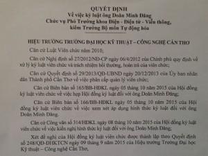 """Tin tức Việt Nam - """"Nói xấu"""" trường trên Facebook, một giảng viên bị kỷ luật?"""