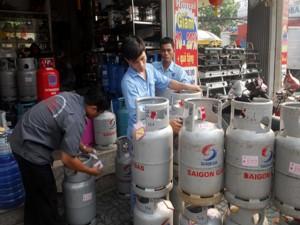 Từ 1/12, giá gas tăng 16.500 đồng/bình