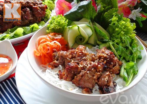 Bún thịt bò nướng mè thơm ngon khó cưỡng - 5