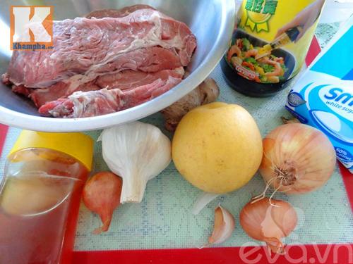 Bún thịt bò nướng mè thơm ngon khó cưỡng - 1