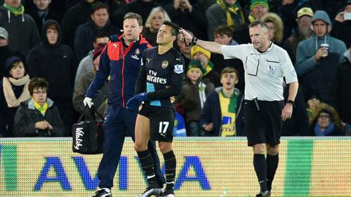 """Chấn thương: Man City & MU còn """"đen"""" hơn Arsenal - 1"""